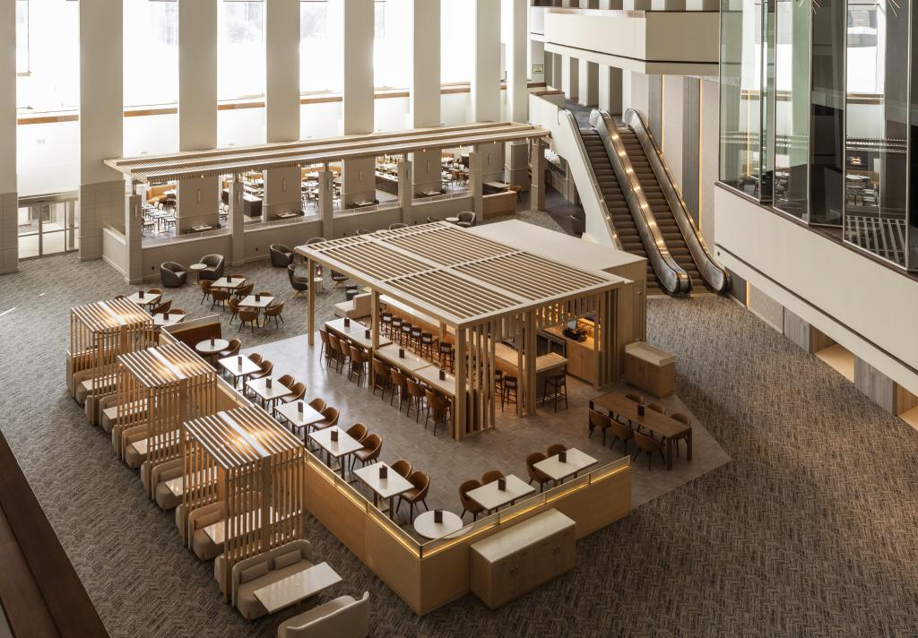 Hyatt Regency Downtown Lobby Above