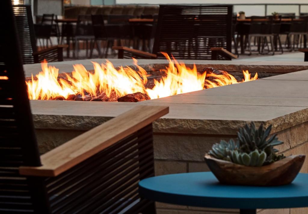 Marriott Marquis Evening Fire Pit