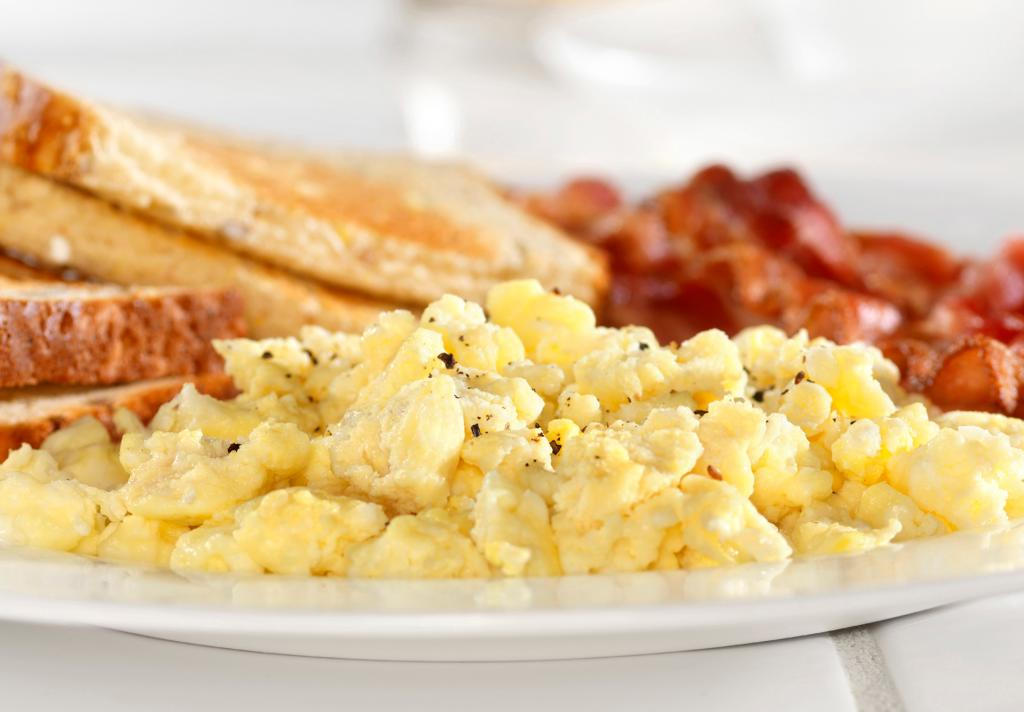 Marriott Medical Center Breakfast Eggs Toast Bacon