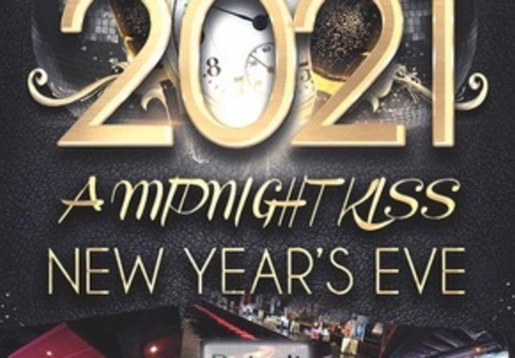 A Midnight Kiss - New Year's Eve 2021 at Pub Fiction ...