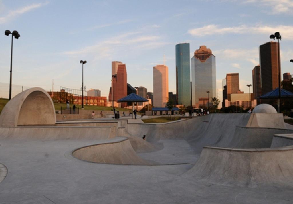 Lee and Joe Jamail Skatepark