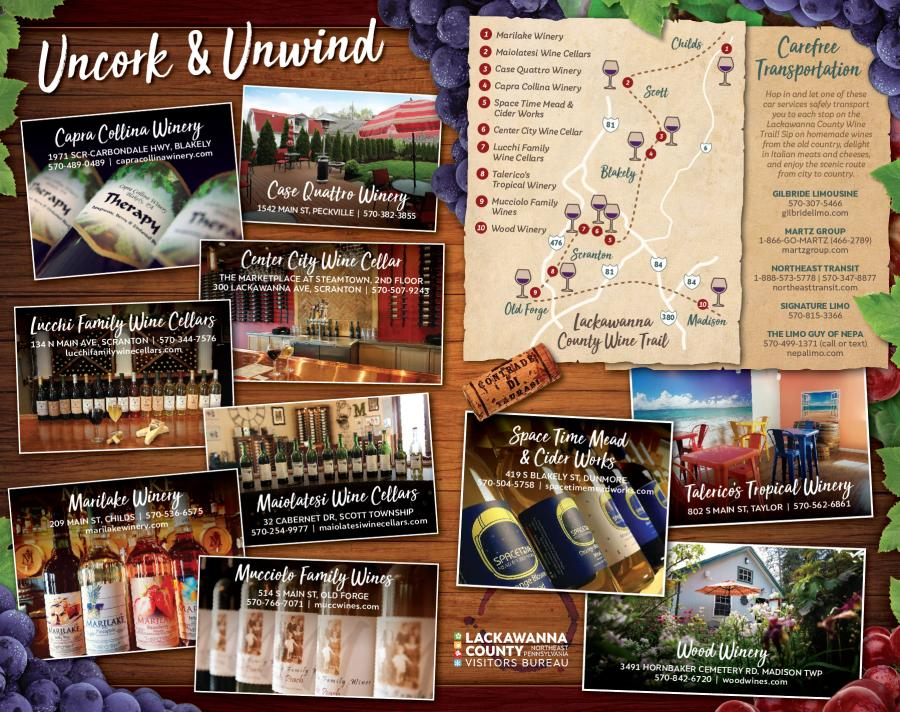 Lackawanna County Wine Trail