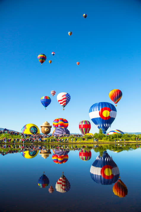 Steamboat Hot Air Balloon Rodeo