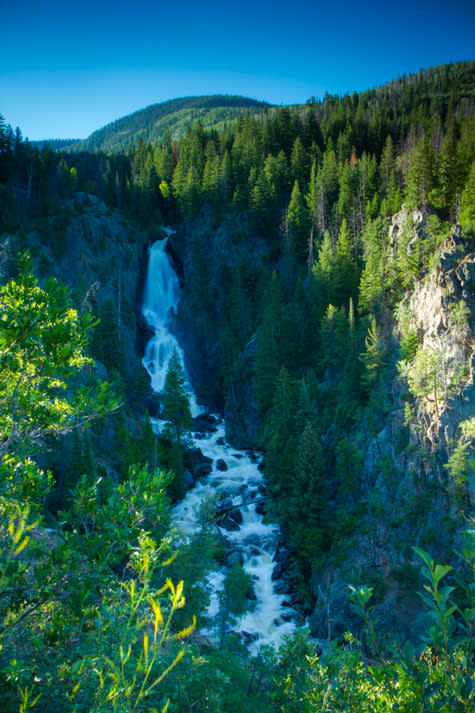 Fish Creek Falls Summer