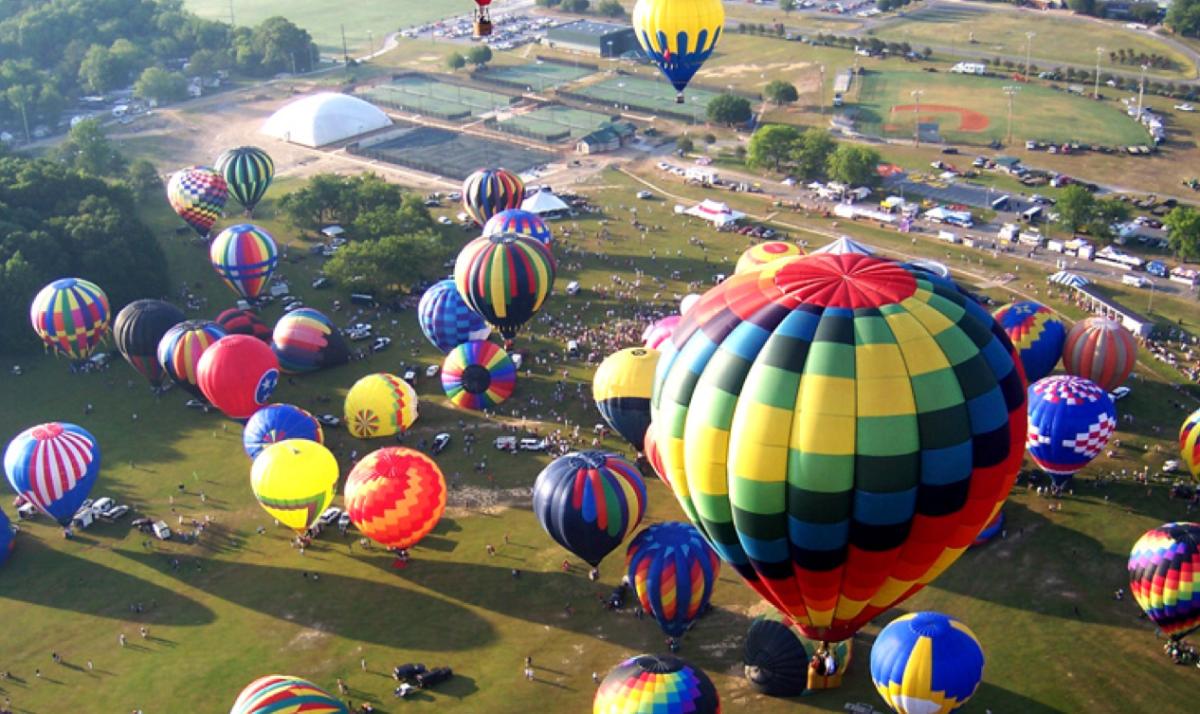 Alabama Jubilee Hot Air Balloon Cruise