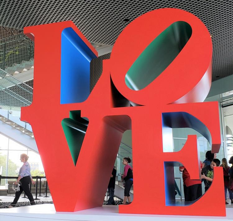 Robert Indiana TMA Love
