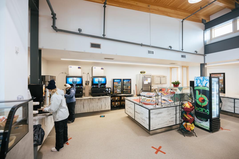 Hogadon Ski Lodge Cafeteria