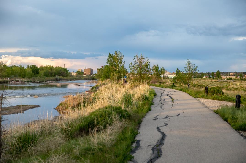 Platte River Trails pathway