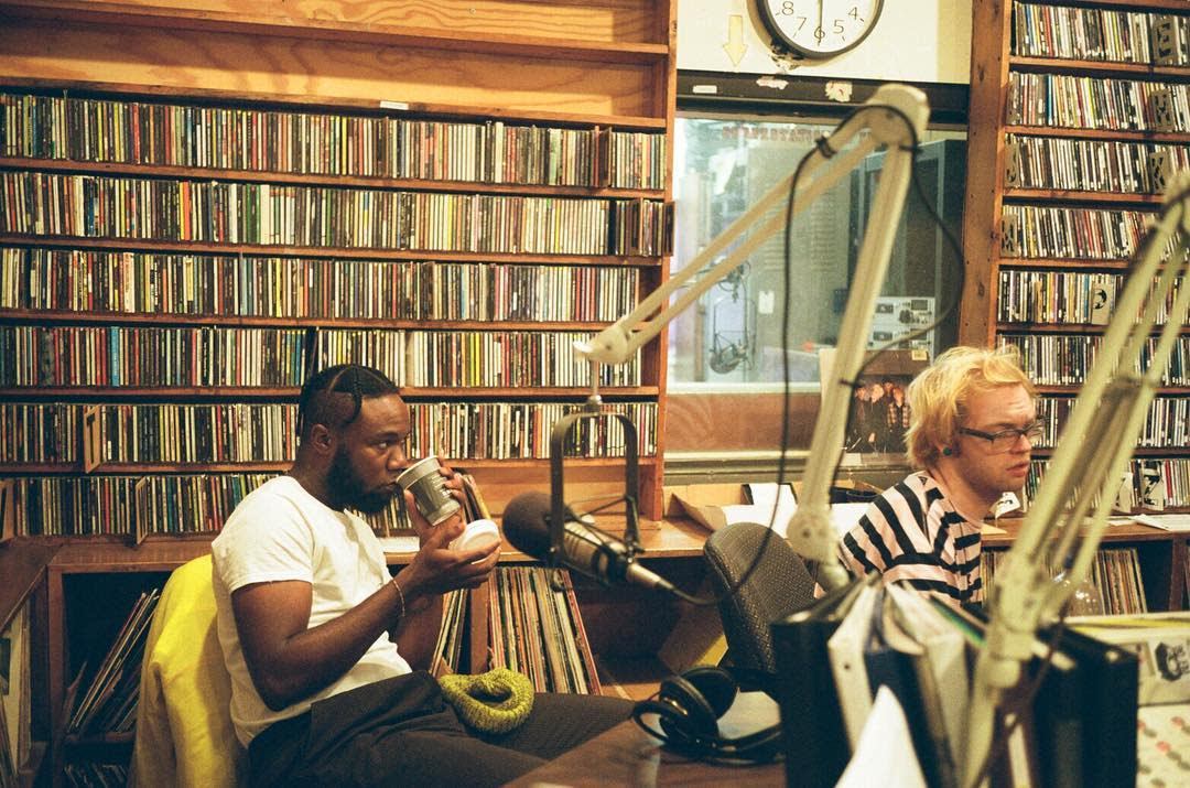 As a student at the University of Wisconsin - Stevens Point, Emmitt James collaborated with students working at 90FM WWSP.