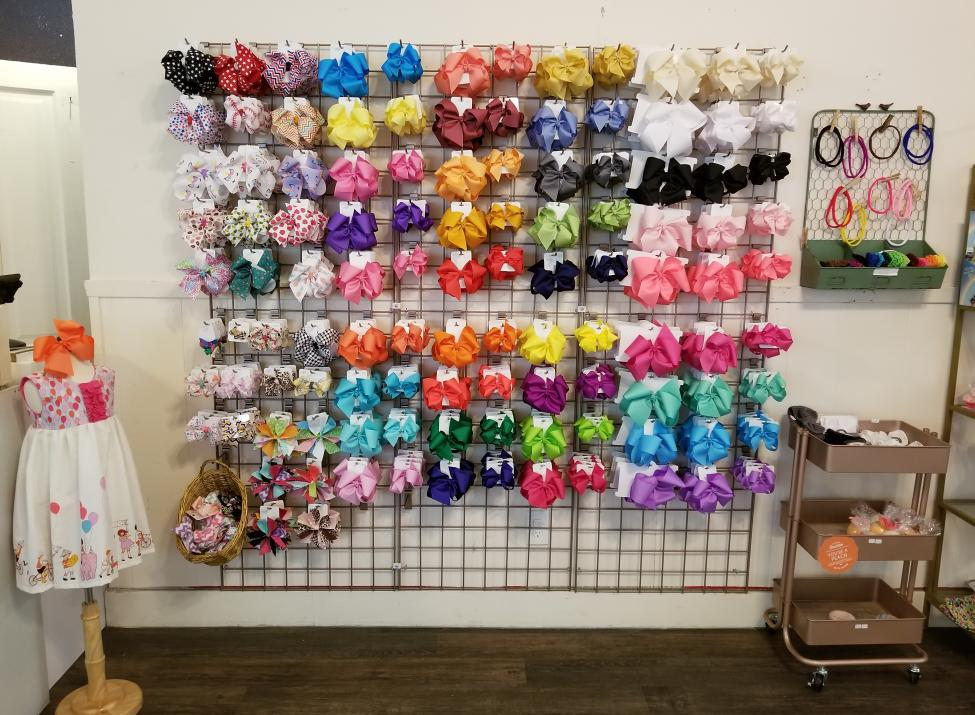 hair bow wall