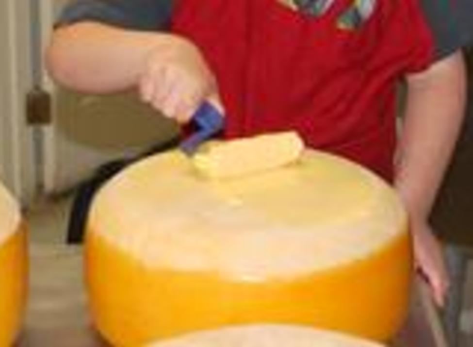 Finishing the Cheese