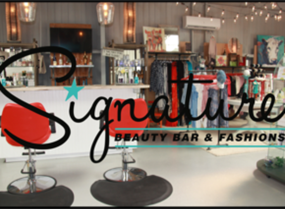 Signature Beauty Bar