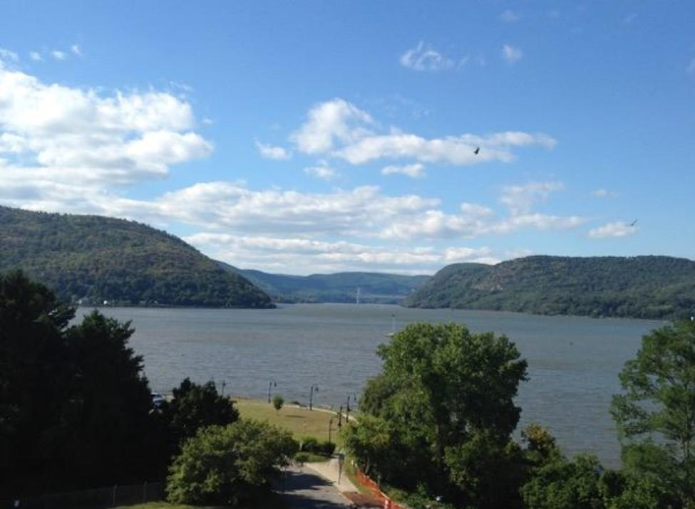 Our views of the Hudson River at Charles Point