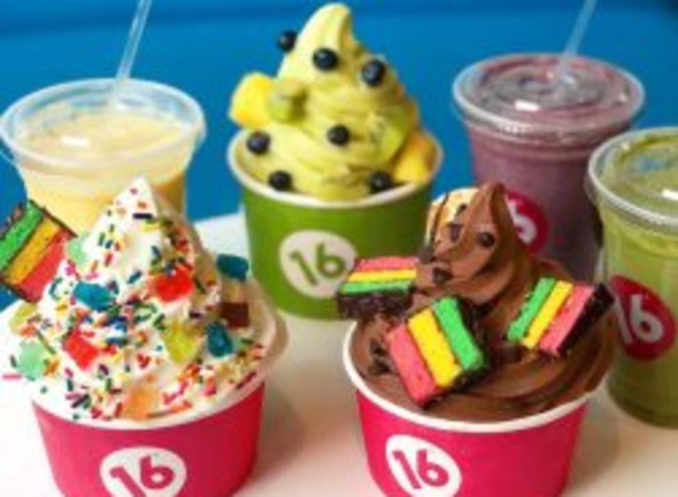 16 handles 3 cups 3 beverages