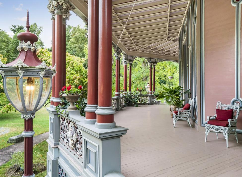 Octagon House porch
