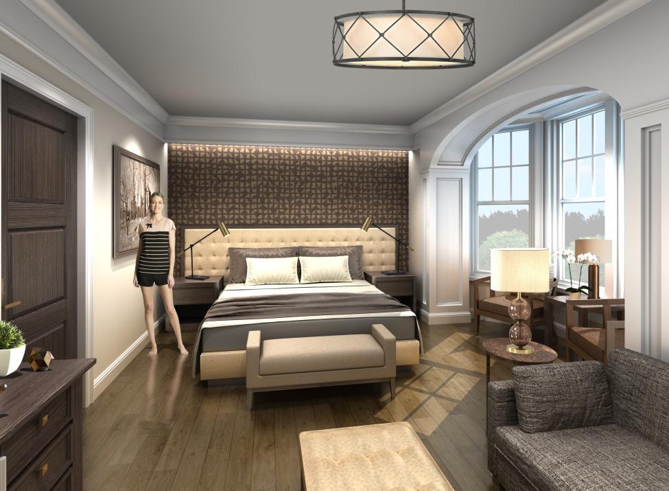 Abbey Inn Peekskill guestroom 1
