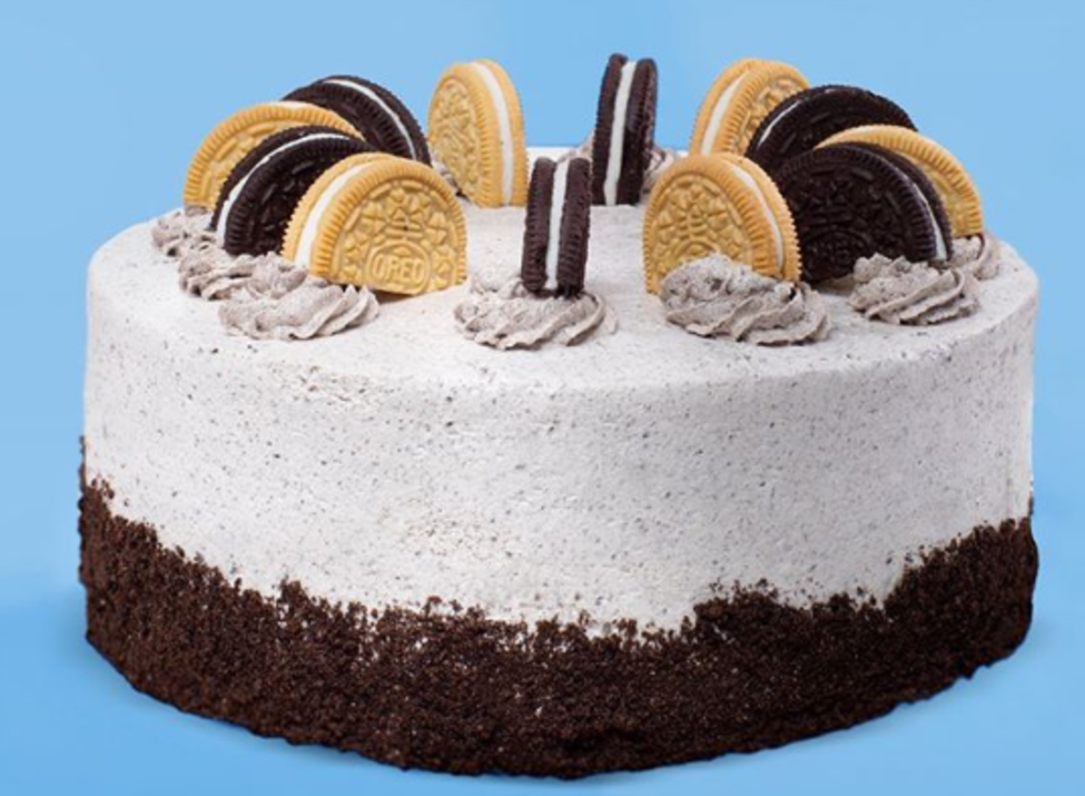 Cold Stone - ice cream cake