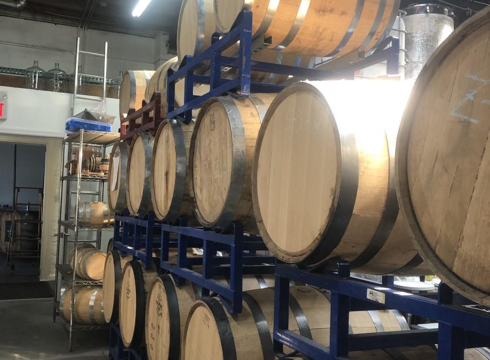 FTH Distilling barrels