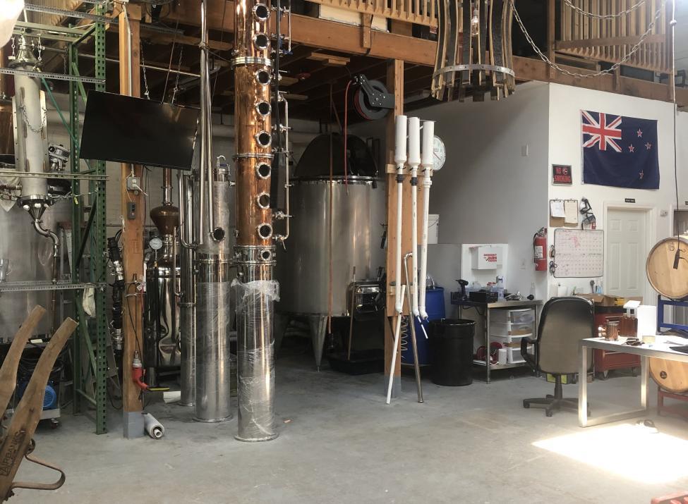 FTH Distilling distillery
