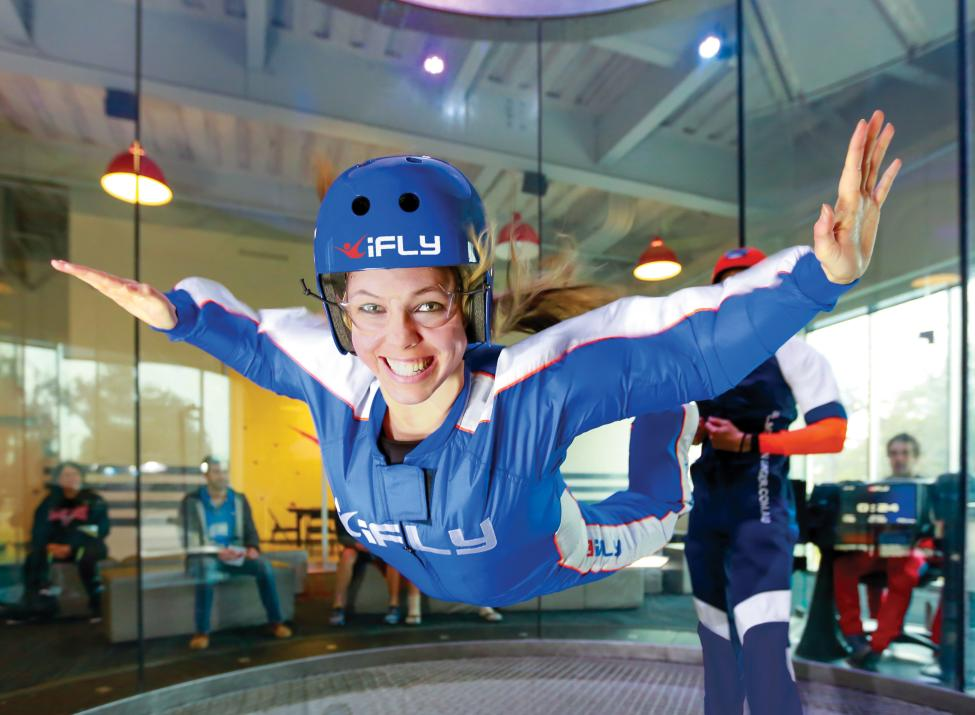 iFly woman flyer