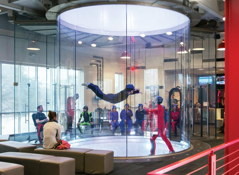 iFly wide shot flyer