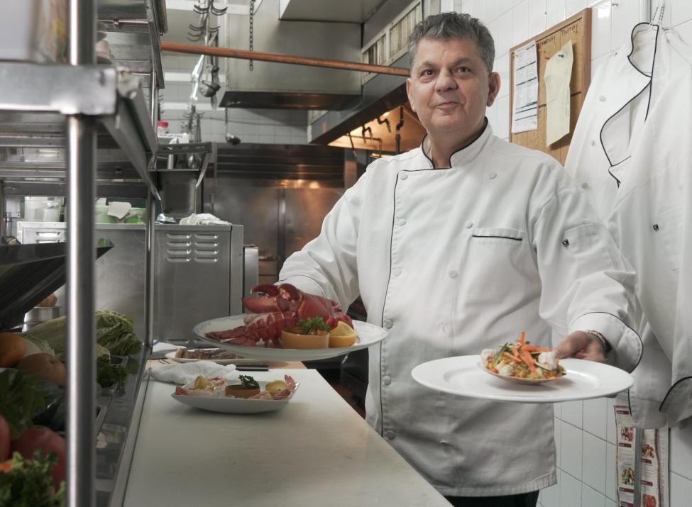 Chef Nikolla Vulaj