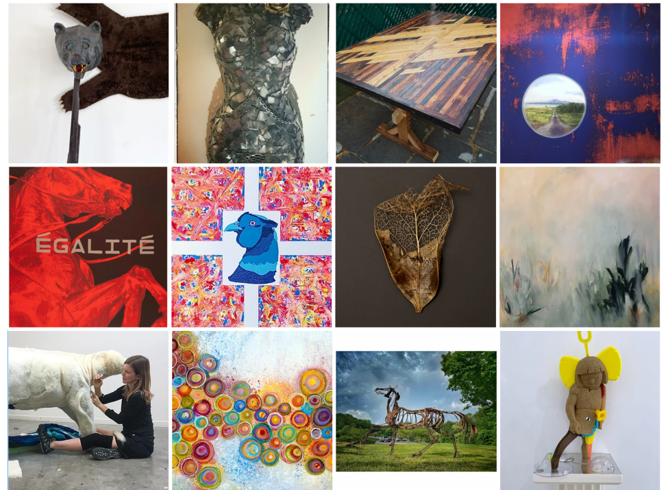 Red Fox Gallery artists montage