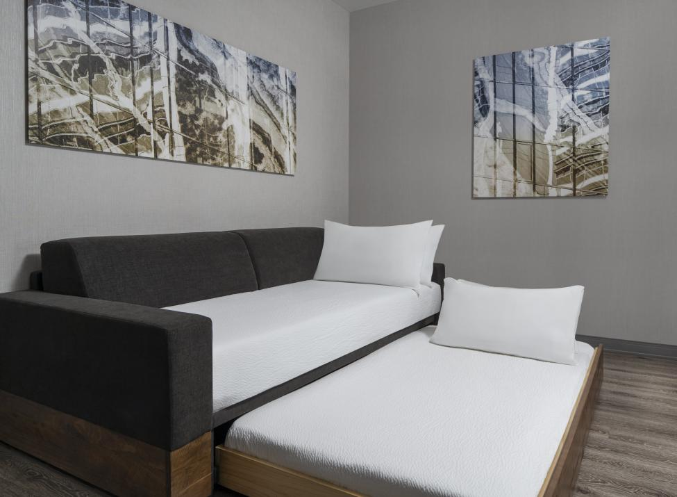 Trundle Bed in all suites