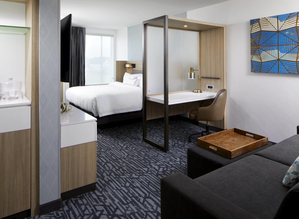 SpringHill Suites Tuckahoe guest room