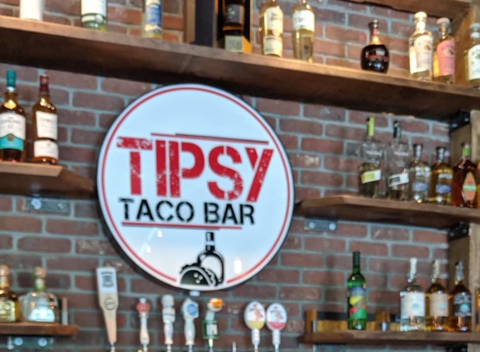 Tipsy Taco Bar bar back