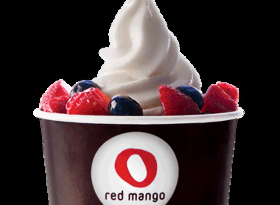 Red mango froyo