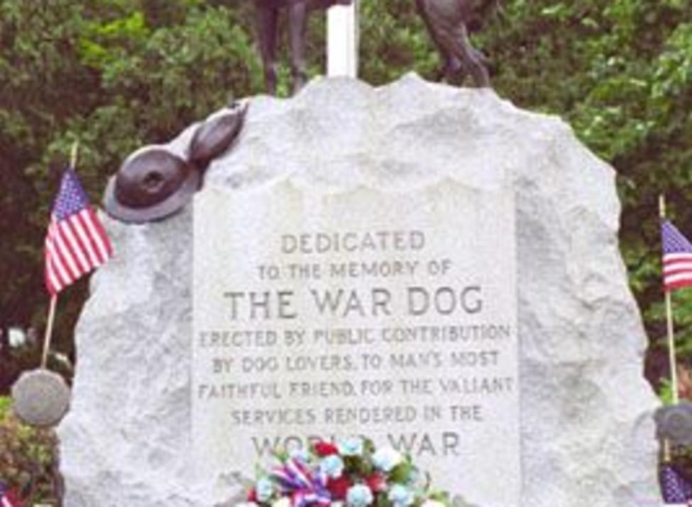 the war dog memorial
