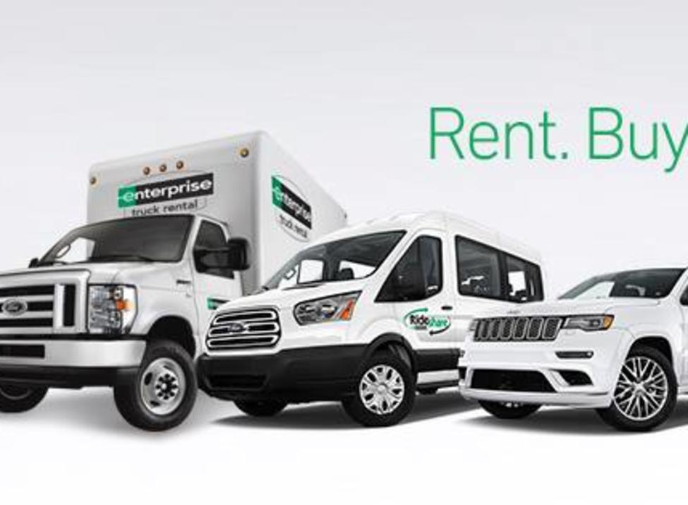 Enterprise Car Rental Sign