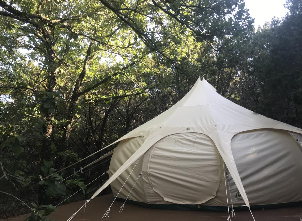 Prickly Pear Luxury Tent