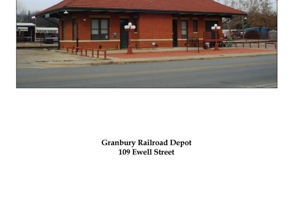 Granbury Historic Railroad Depot