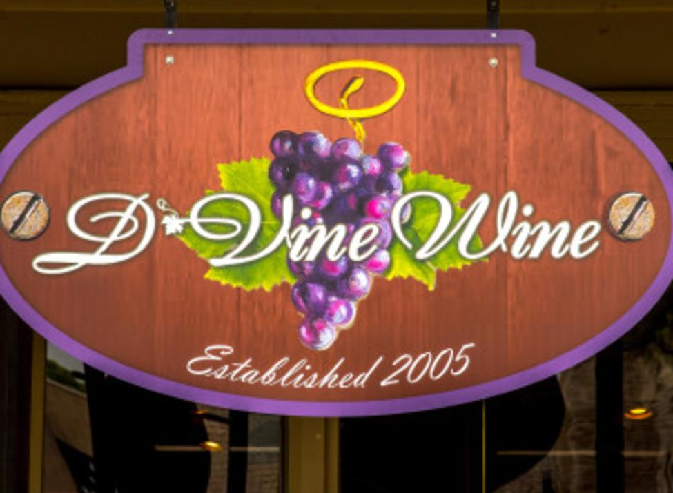 D'Vine Wine Sign