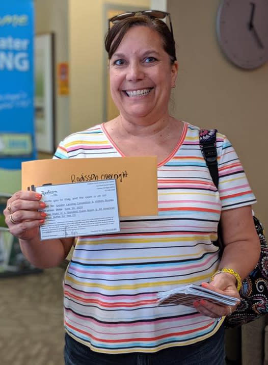 Twila Finds A Silver Ticket during Be A Tourist!