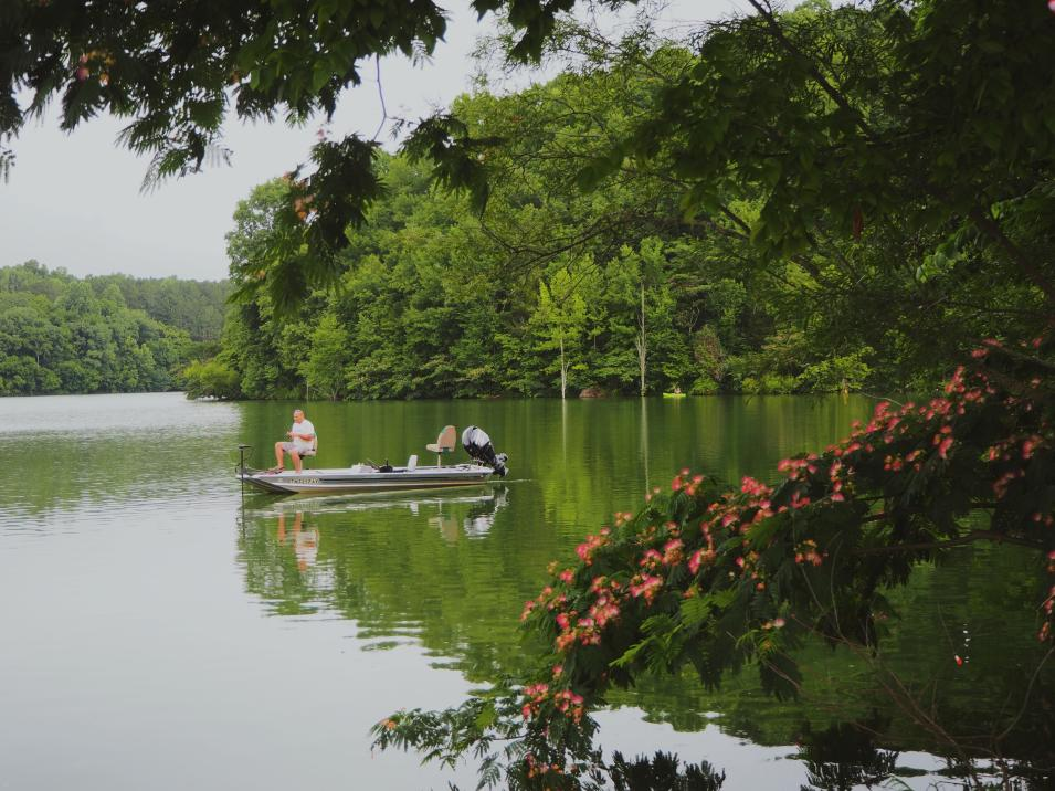Williamsport Lake Fishing