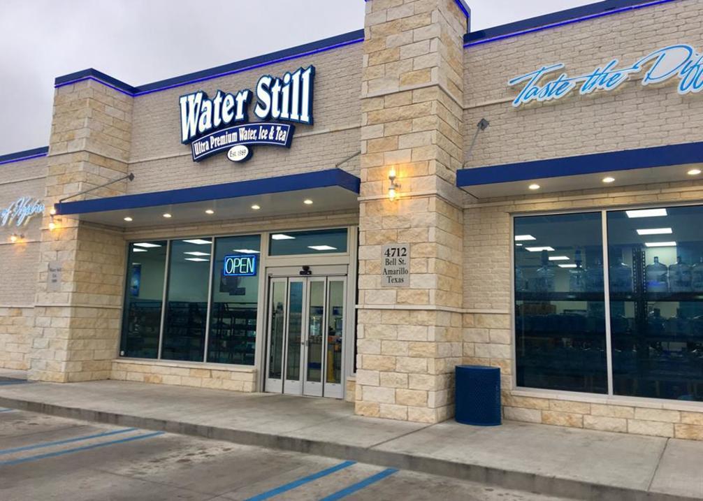 Water Still Exterior