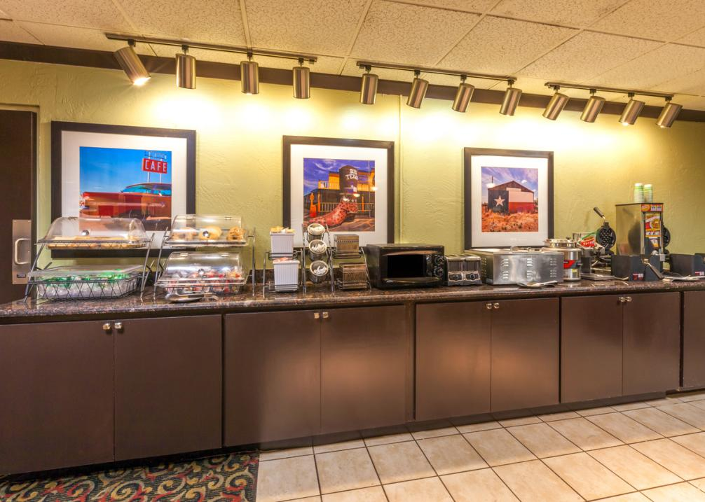 Baymont Inn & Suites East- Breakfast Area