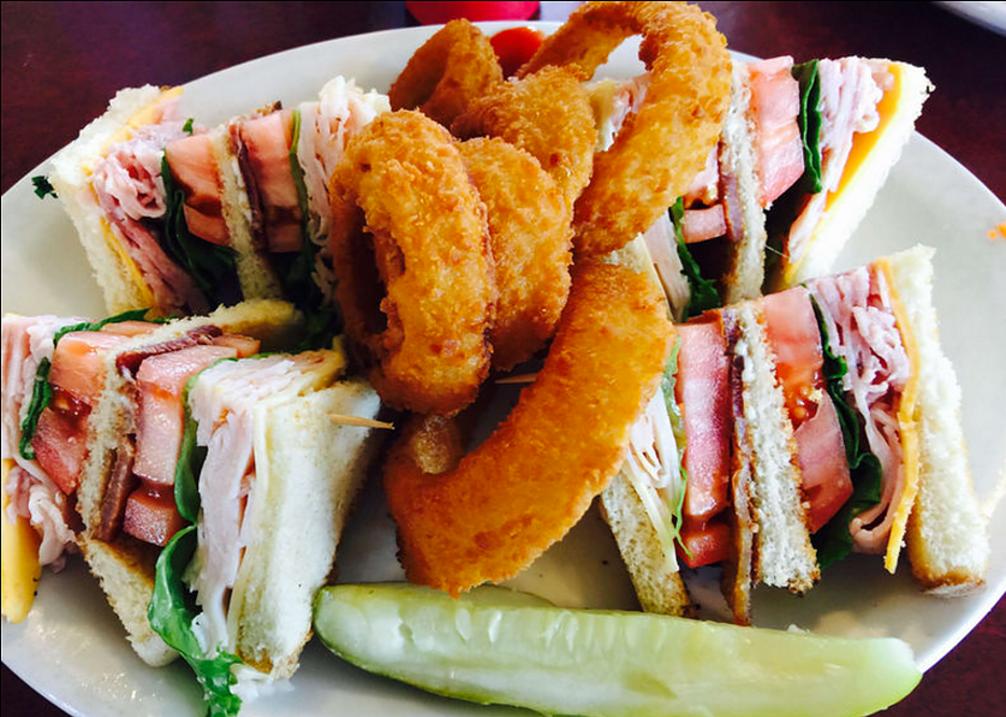 Cafe Marizon Club Sandwich