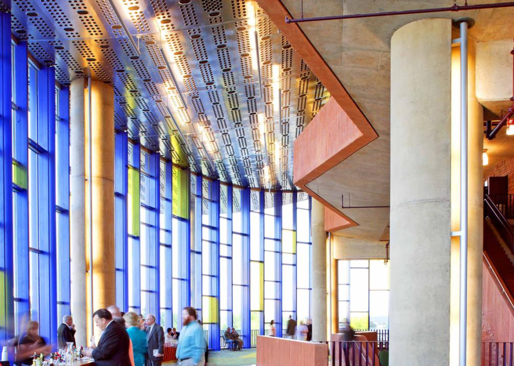 Globe-News Center Lobby
