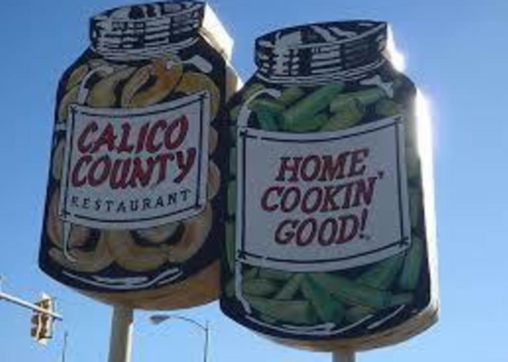 Calico County Signs