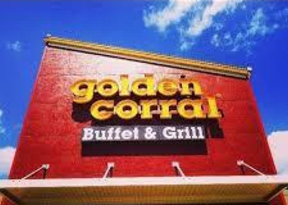 Golden Corral sign