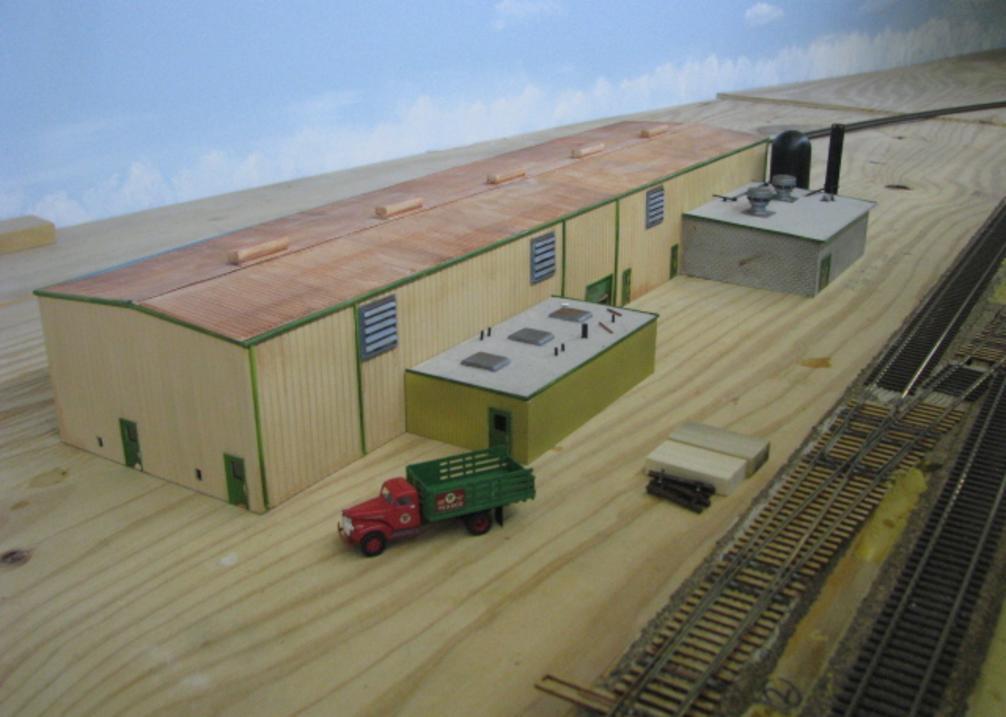 Zita, TX Continuous Rail Plant