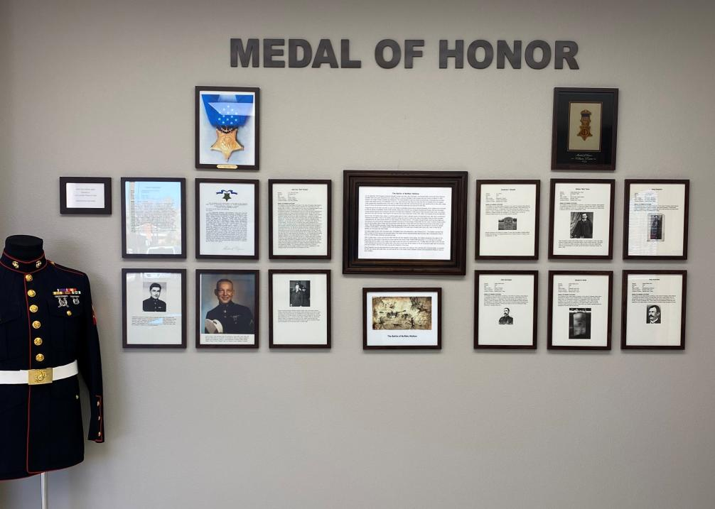 Medal of Honor Wall