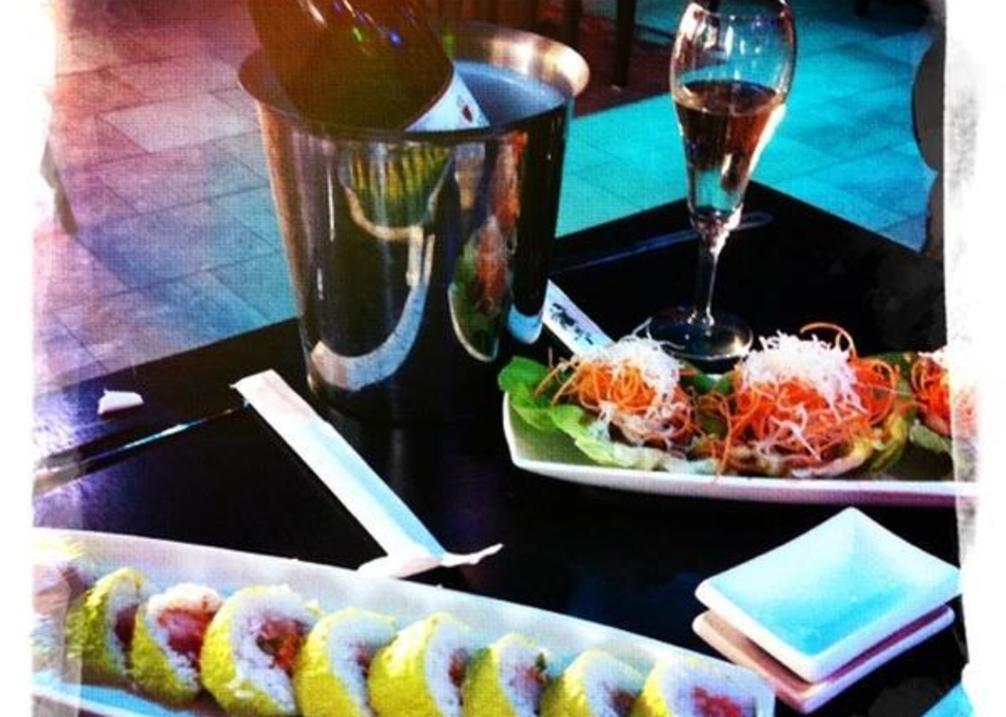 Rain Sushi Bar food