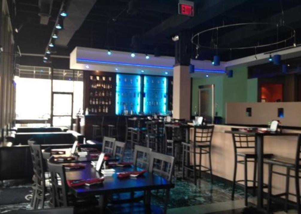 Rain Sushi Bar interior