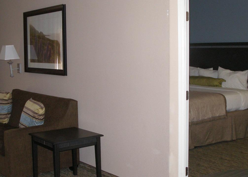 One bedroom King Suite with full kitchenette.