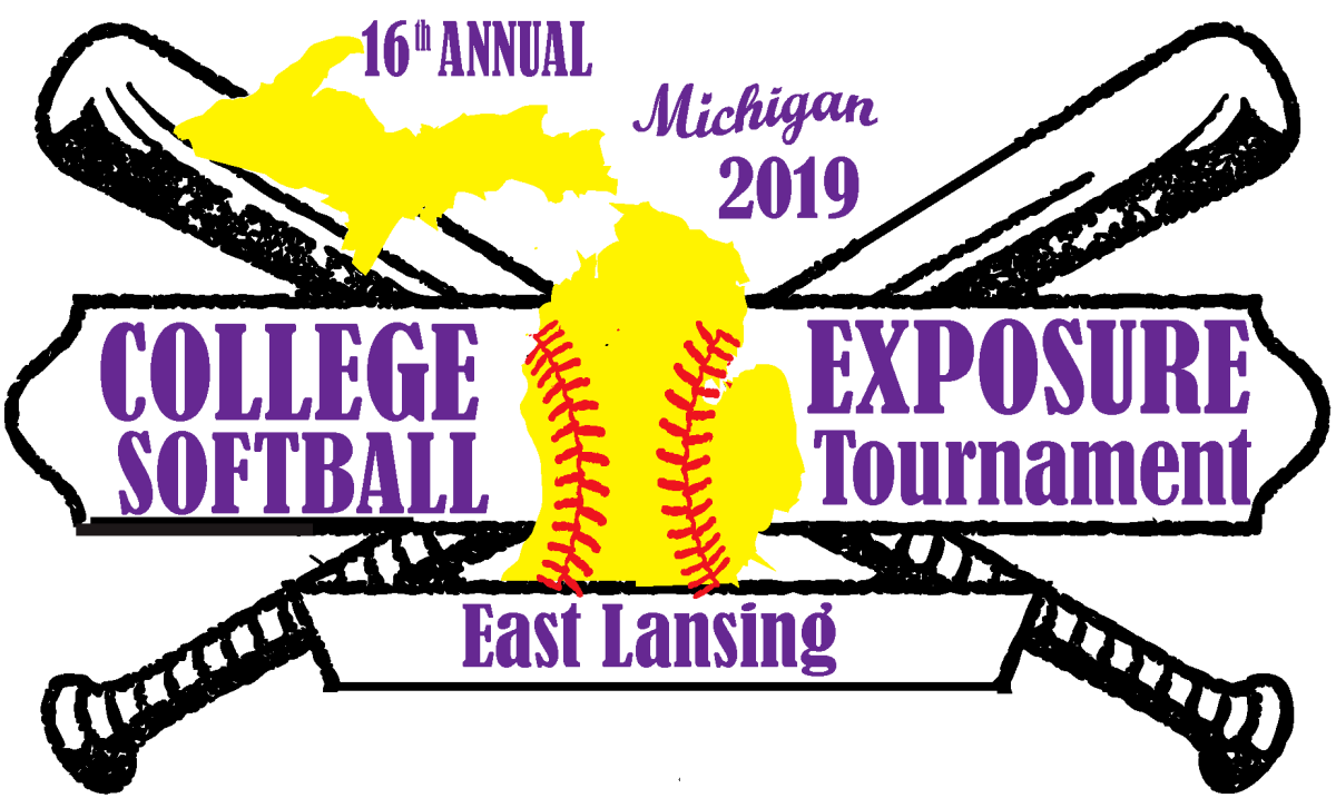 college exposure softball tournament 2019 logo